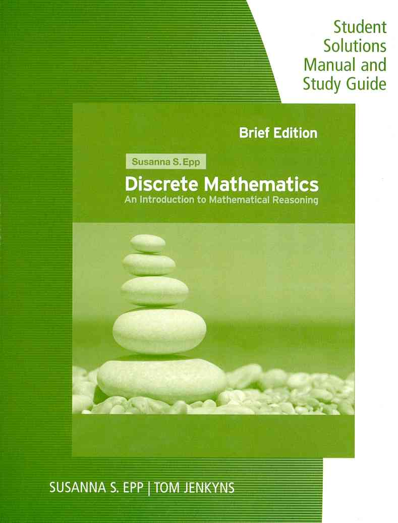 Discrete Mathematics with Applications By Epp, Susanna S./ Jenkyns, Tom (CON)
