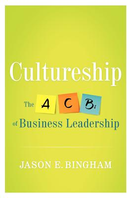 Cultureship By Bingham, Jason